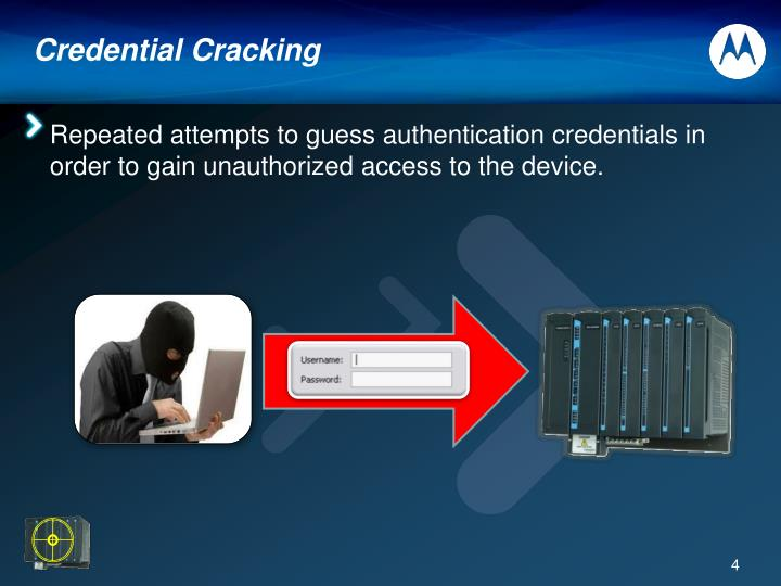 Credential Cracking
