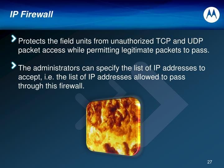 IP Firewall