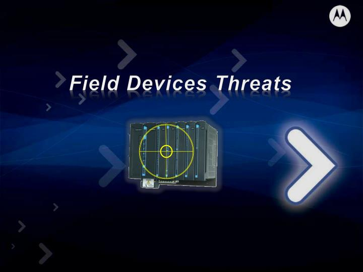 Field Devices Threats