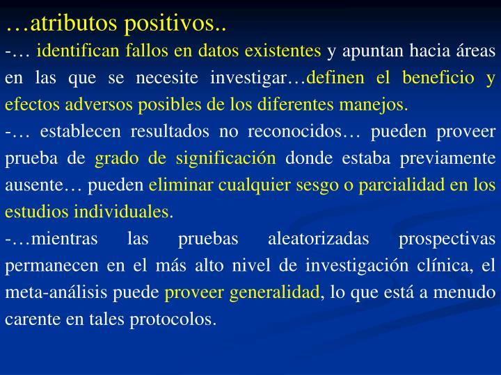 …atributos positivos..