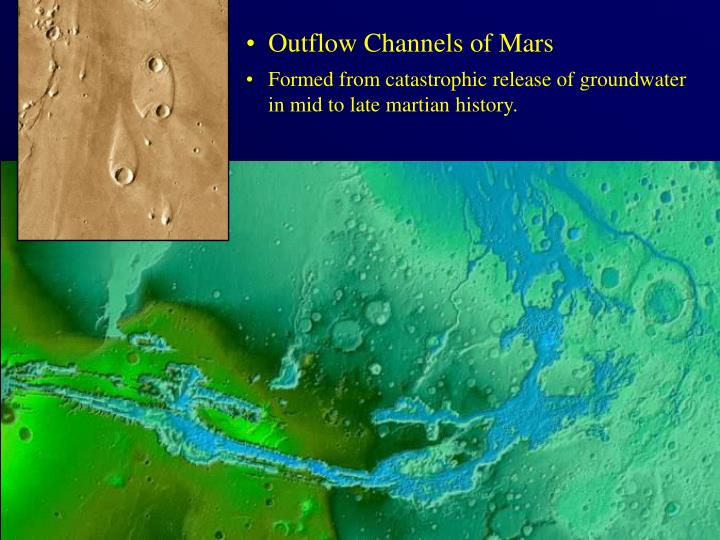 Outflow Channels of Mars