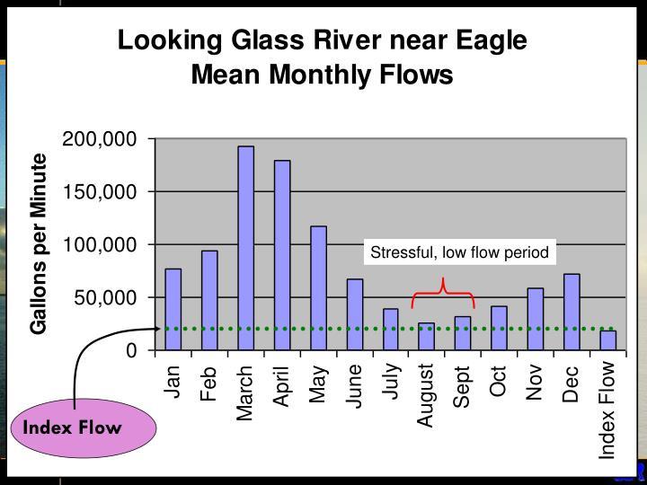 Stressful, low flow period