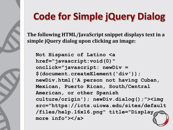 Code for Simple