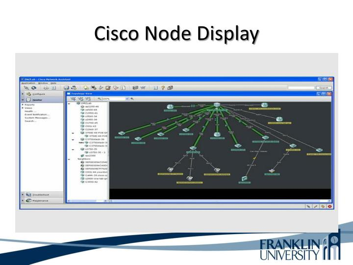 Cisco Node Display