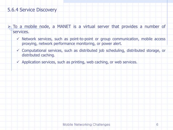 5.6.4 Service Discovery
