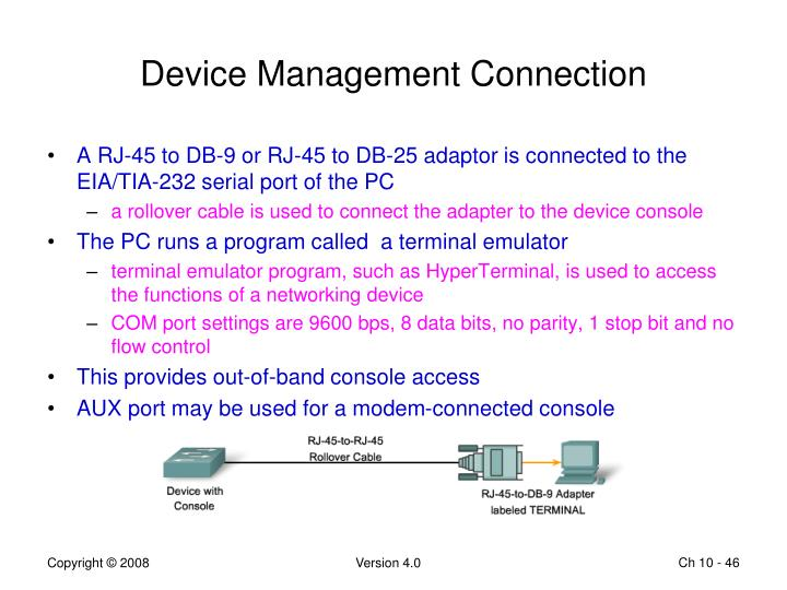 Device Management Connection