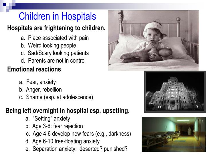 Children in Hospitals