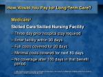 how would you pay for long term care2