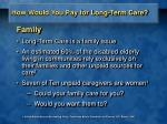 how would you pay for long term care5