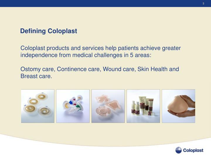 Defining Coloplast