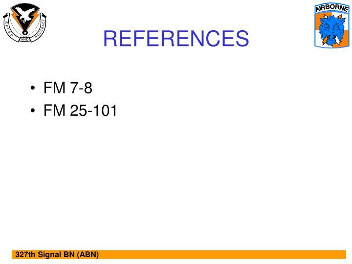 FM 7-8