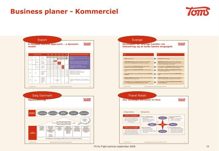 Business planer - Kommerciel