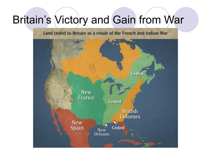 Britain's Victory and Gain from War