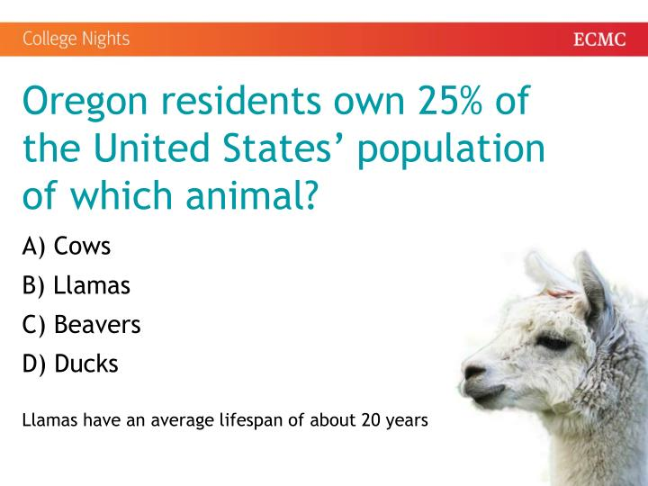 Oregon residents own 25% of the United States