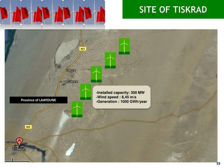 SITE OF TISKRAD