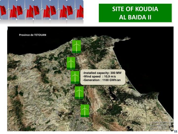 SITE OF KOUDIA