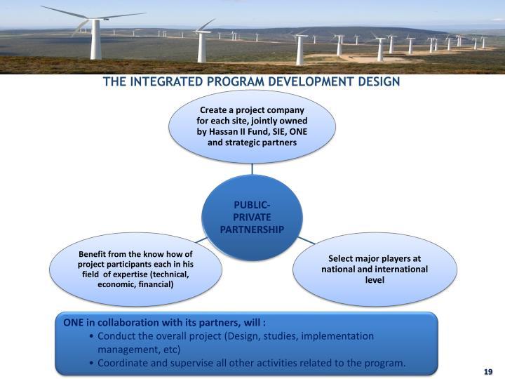 THE INTEGRATED PROGRAM DEVELOPMENT DESIGN