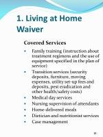 1 living at home waiver2