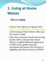 1 living at home waiver3