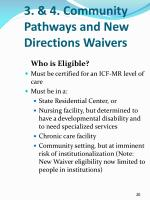 3 4 community pathways and new directions waivers1