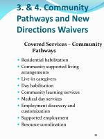 3 4 community pathways and new directions waivers3