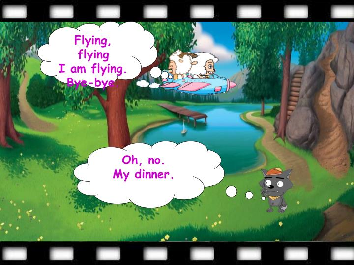 Flying, flying