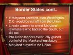 border states cont
