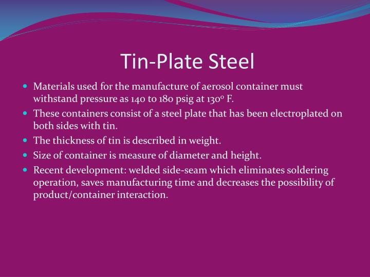 Tin-Plate Steel