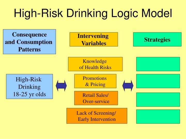 High-Risk Drinking Logic Model