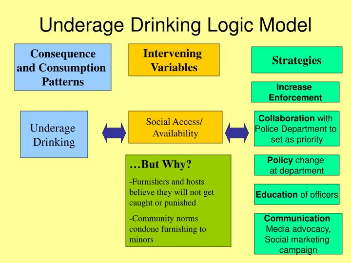 Underage Drinking Logic Model