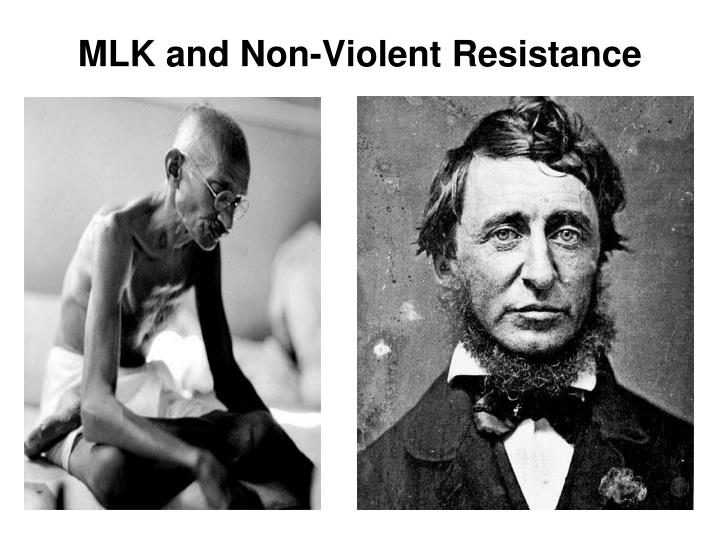 MLK and Non-Violent Resistance
