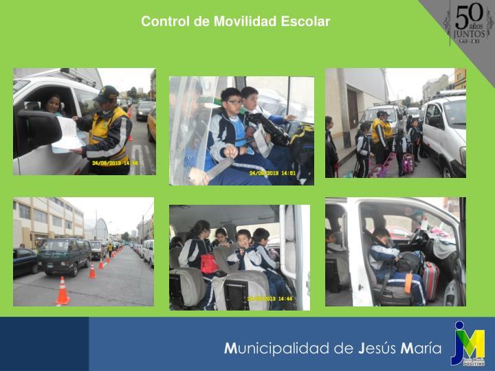 Control de Movilidad Escolar
