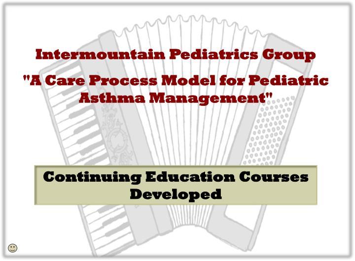 Intermountain Pediatrics Group