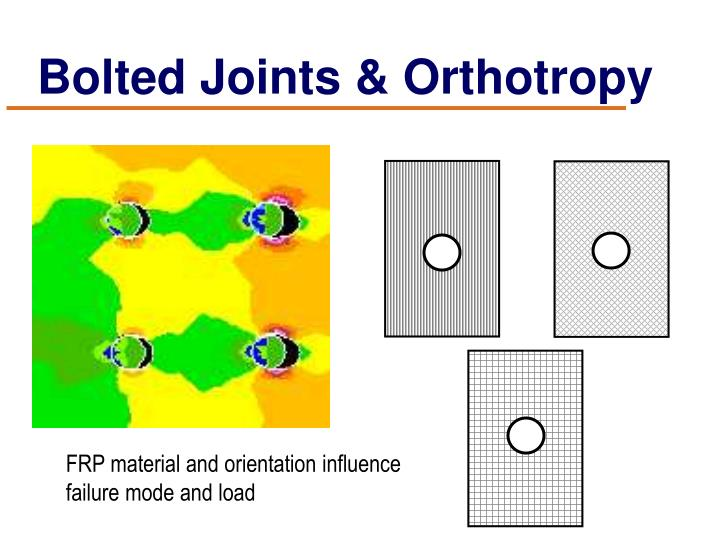 Bolted Joints & Orthotropy