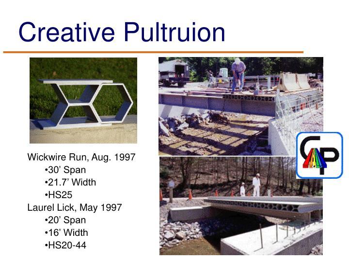 Creative Pultruion