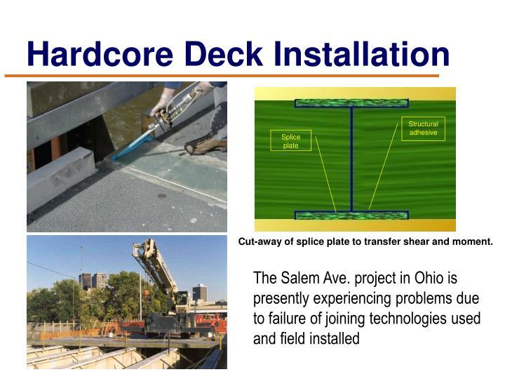Hardcore Deck Installation
