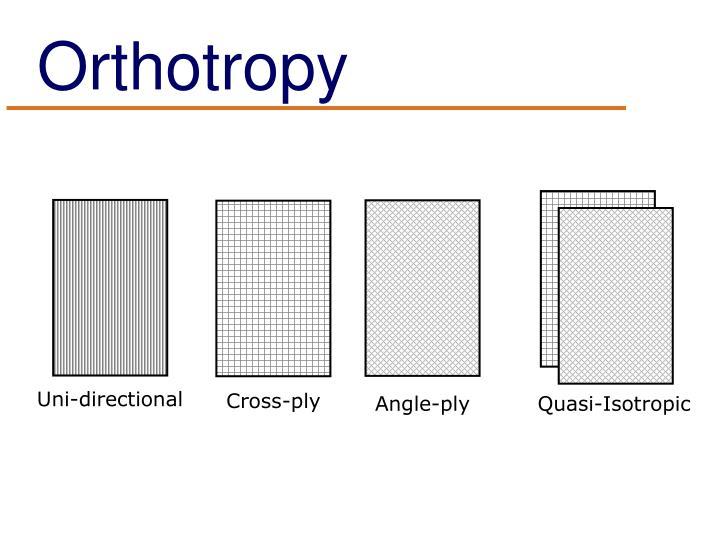 Orthotropy