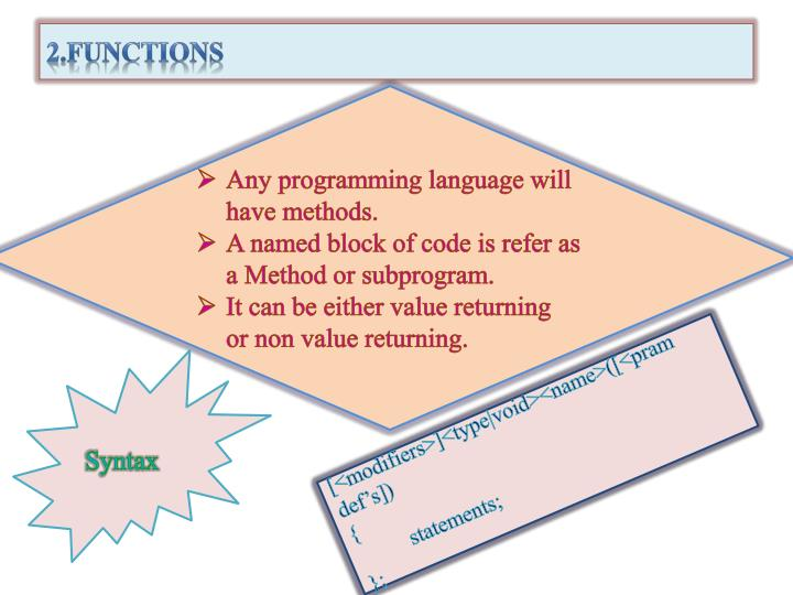 2.Functions