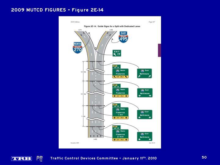 2009 MUTCD FIGURES – Figure 2E-14