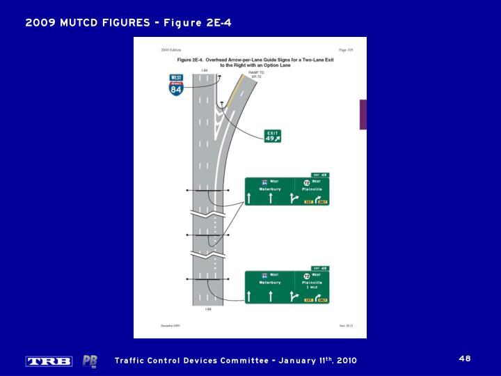 2009 MUTCD FIGURES – Figure 2E-4