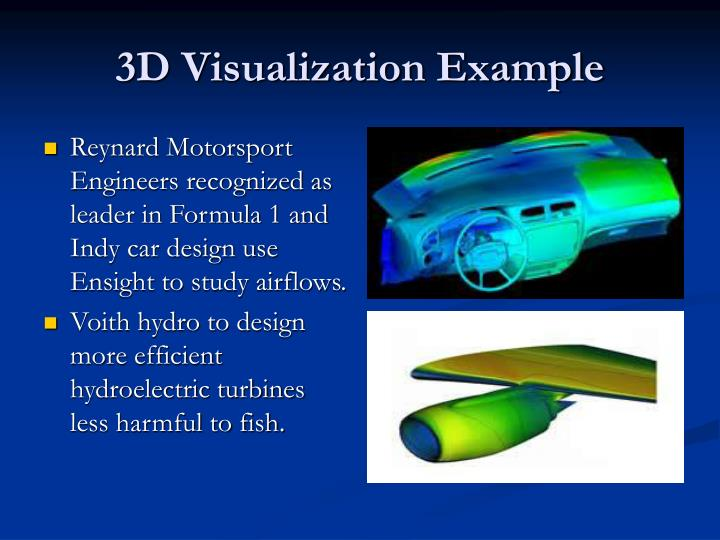 3D Visualization Example