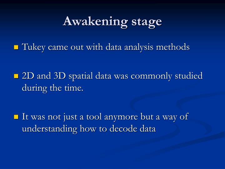 Awakening stage