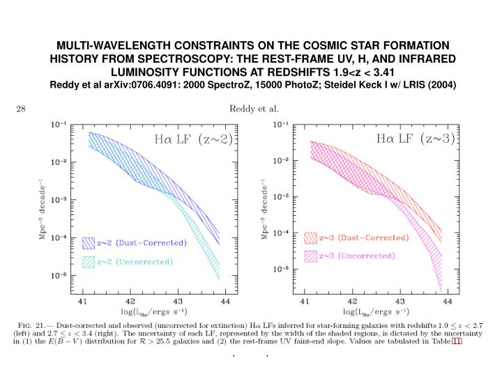 MULTI-WAVELENGTH CONSTRAINTS ON THE COSMIC STAR FORMATION HISTORY FROM SPECTROSCOPY: THE REST-FRAME UV, H, AND INFRARED LUMINOSITY FUNCTIONS AT REDSHIFTS 1.9<z < 3.41