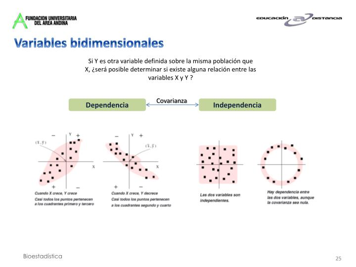 Variables bidimensionales