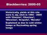 blackberries 2000 05