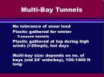 multi bay tunnels1