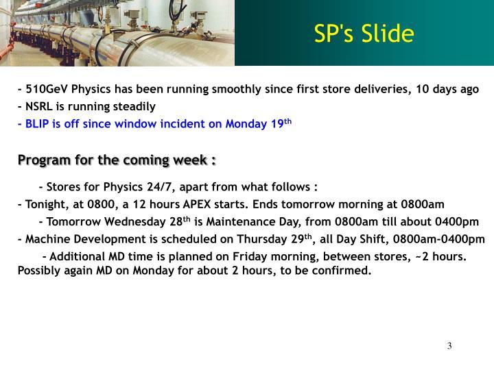 SP's Slide