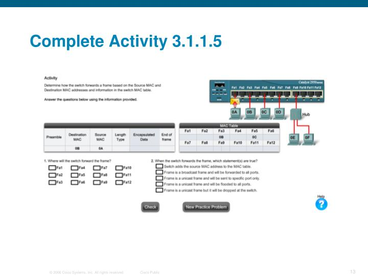 Complete Activity 3.1.1.5