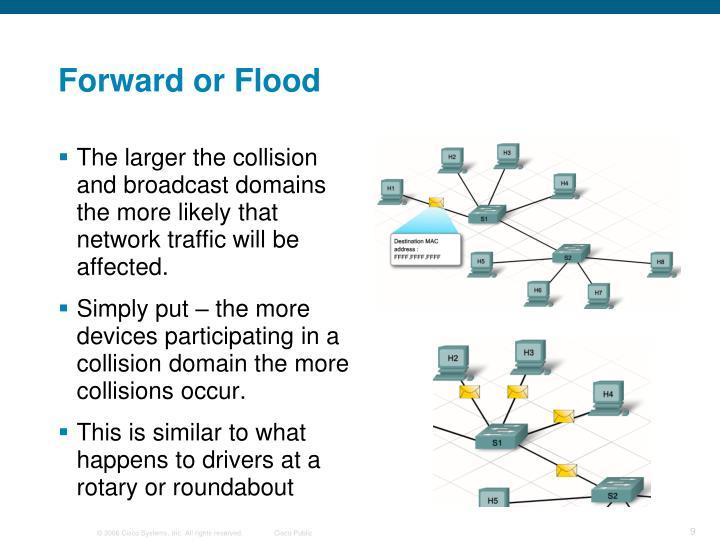 Forward or Flood