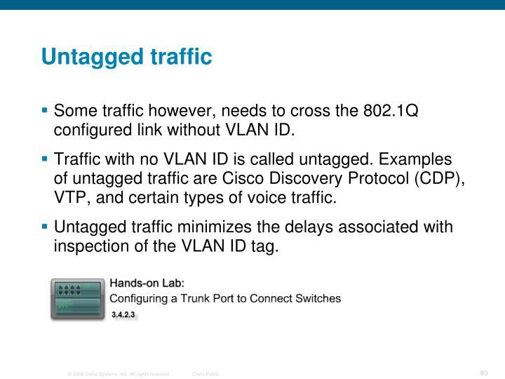 Untagged traffic